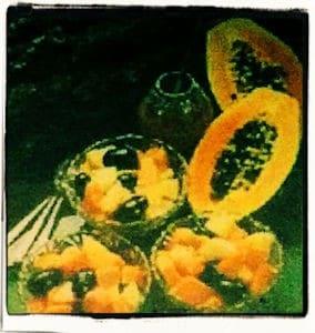 Ensalada de papaya