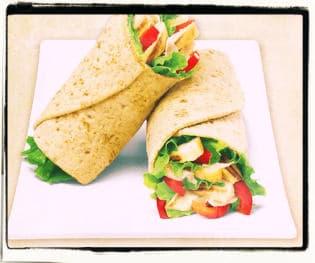 Burrito saludable